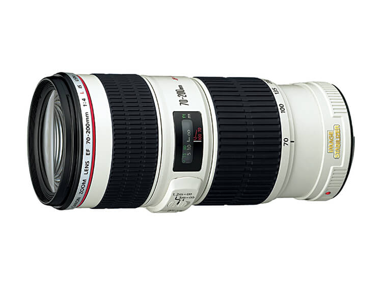 Zoom de Telefoto - EF 70-200mm f/4L IS USM