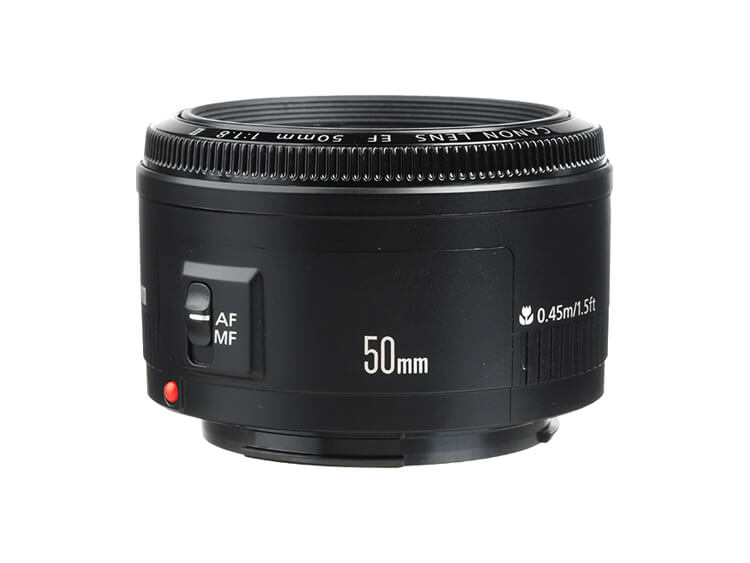 Telefoto Estándar y Medio - EF 50mm f/1.8 II