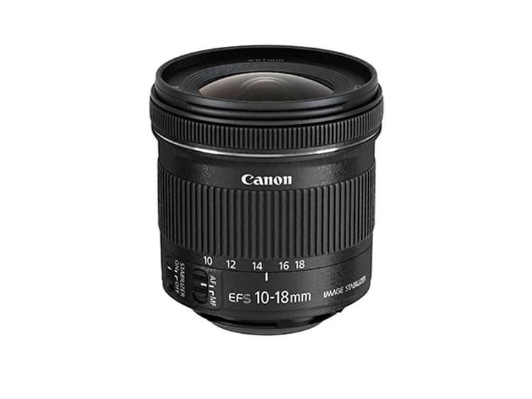 Zoom Ultra Gran Angular - EF-S 10-18mm f/4.5-5.6 IS STM