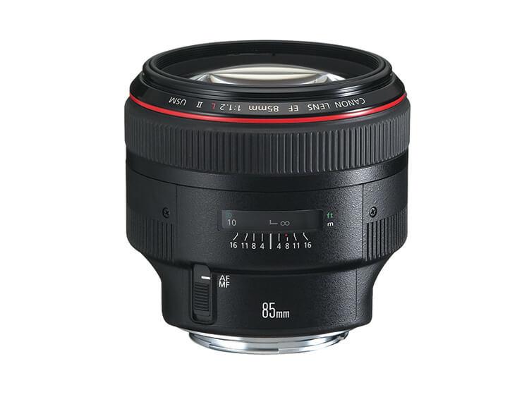 Telefoto Estándar y Medio - EF 85mm f/1.2 II USM