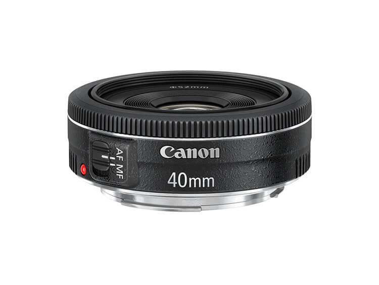 Telefoto Estándar y Medio - EF 40mm f/2.8 STM