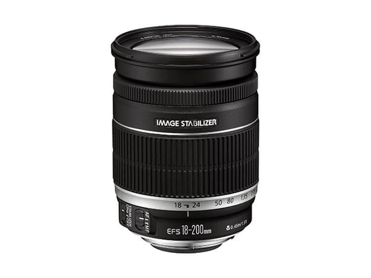 Zoom Estándar - EF-S 18-200mm f/3.5-5.6 IS