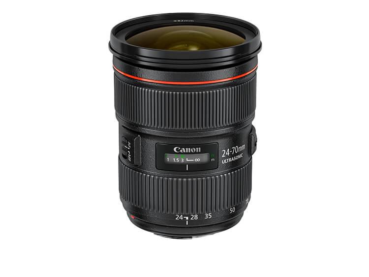 Zoom Estándar - E 24-70mm f/2.8L II USM