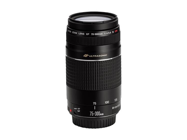 Zoom de Telefoto - EF 75-300mm f/4-5.6 III USM