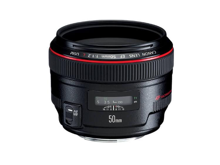 Telefoto Estándar y Medio - EF 50mm f/1.2L USM