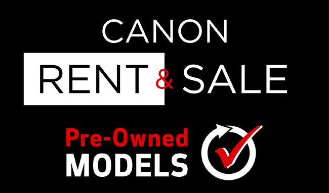 Canon Rent & Sale